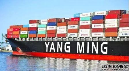 阳明海运:大陆复工集运市场二季度将反弹