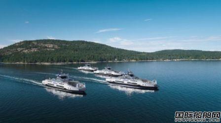 Corvus为BC Ferries四艘新造船供应能源存储系统