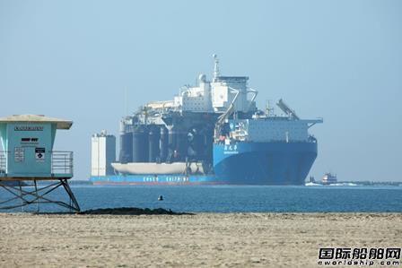 """""""新光华""""号美国运载海上发射平台启程前往俄罗斯"""