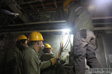 港船重工全力保证医院船项目生产顺利进行