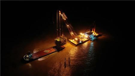 """""""新振浮7""""轮顺利完成滨海南H3海上升压站吊装项目"""