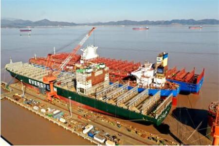 舟山中远海运重工与中远海运集运深度合作创佳绩