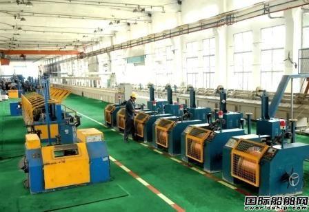 武汉船机铁锚焊材药芯焊丝进入大连中远海运重工