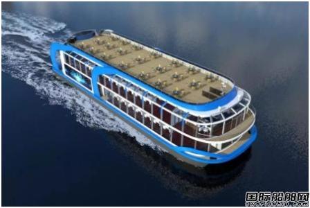 中船605院380客位纯电池动力游船设计项目正式启动