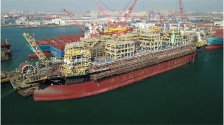 大连中远海运重工确保FPSO改装项目生产有序推进