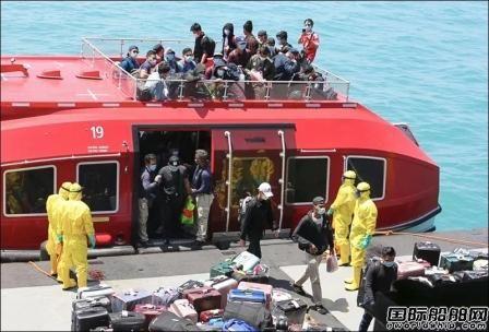 印尼从两艘邮轮撤回约250名船员隔离目前无人感染