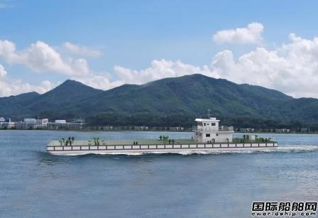 江龙船艇自主研发甲醇燃料动力船完成试航