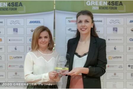 LR荣获GREEN4SEA颁发最佳燃油检验检测服务奖
