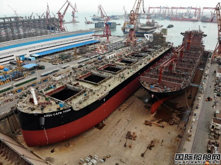黄埔文冲完成2020年首个坞次两艘船顺利出坞