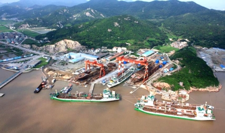 东鹏船舶复工复产3艘新船同时在建