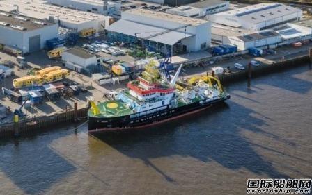 肖特尔将为德国LNG动力研究船配备推进系统