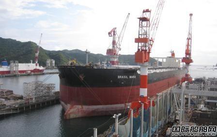 """""""捡漏""""中国订单?日本船厂修船业务迎久违春风"""