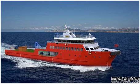 同方江新签一艘46米浮油回收船建造项目
