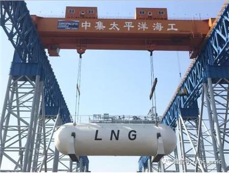 中集太平洋海工获1.6亿元LNG燃料罐订单