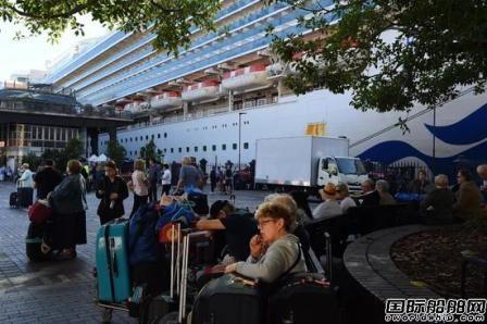 """""""红宝石公主""""号3人确诊2700名乘客下船自我隔离"""