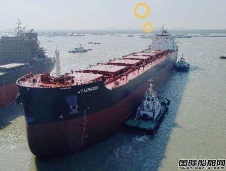 中船澄西复工后试航第一船凯旋