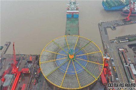 长宏国际协建大型深海渔场顺利接驳