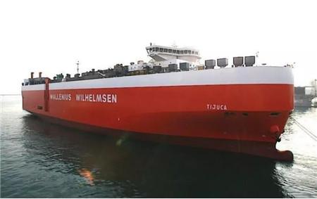 全球最大滚装船公司闲置10艘船再拆4艘