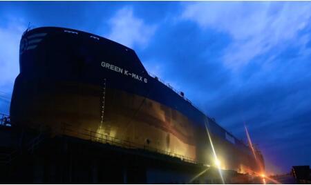 舟山中远海运重工N750船完成重要节点取得新突破