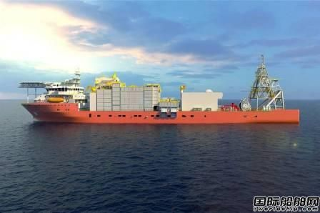 Alewijnse获一艘新造钻石开采船电气安装合同