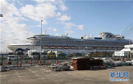 """美疾控中心发现:乘客下船后病毒仍能在""""钻石公主""""号存活17天"""
