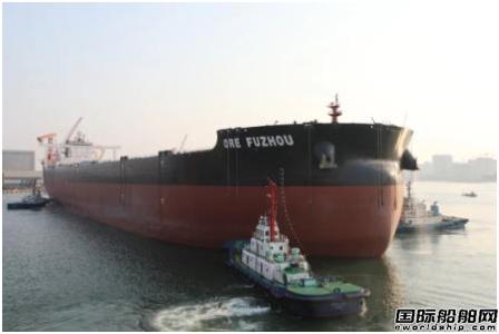 北船重工4船同时开工1船试航凯旋