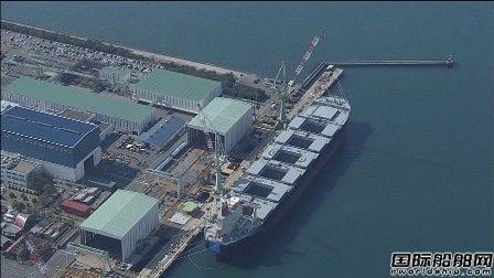 今治造船一艘在建散货船内两名工人死亡