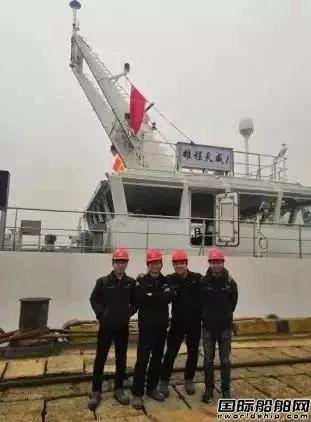 """""""雄程天威1""""号风电运维船顺利完成海试并交付使用"""