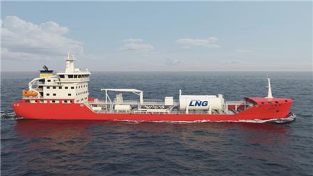 国鸿液化气再签8船套LNG燃料供气系统订单