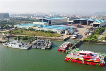 江龙船艇高性能消防作业船艇服务粤港澳大湾区建设
