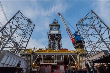 IMI完成一座自升式钻井平台维修