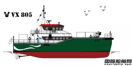 东方船研中标2艘双体风电运维船