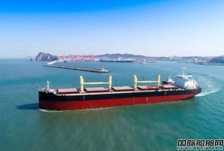招银租赁在大连中远海运川崎订造4艘散货船