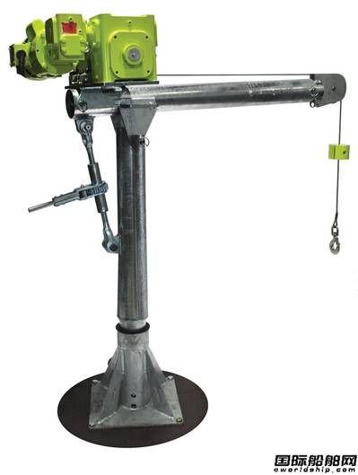 Patterson推出新型吊柱起重机