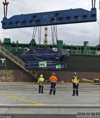 """""""新大连""""号停靠墨尔本码头遭工人拒绝卸货"""