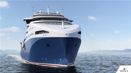 瓦锡兰为中国企业设计全球最大最高效磷虾捕捞船