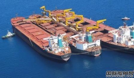交银租赁在北船重工下单订造4艘VLOC