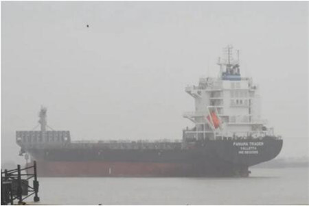 广东中远海运重工完成1750TEU系列7号船空船测量