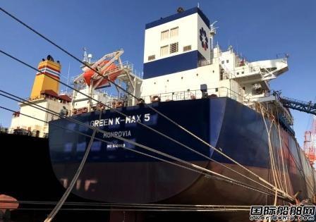 舟山中远海运重工一艘8.16万吨散货船完成主机系泊试验节点