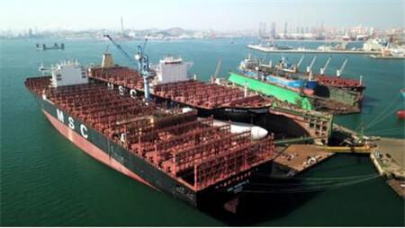 大连中远海运重工一季度修船业务稳中向好