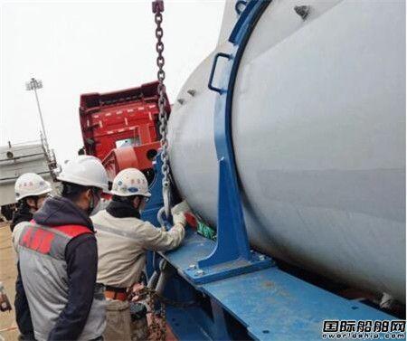 外高桥海工完工交付ABB公司推进器油漆项目