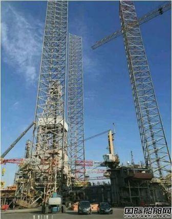 大船集团中标山东海工钻井平台维修改造项目