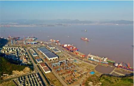 舟山中远海运重工一季度制造业务稳中向好