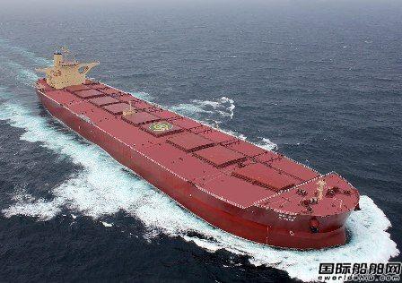 """全球首家!现代重工打造首艘""""无人""""散货船"""