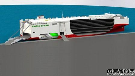 中国建造全球最大LNG动力汽车船将加入大众船队