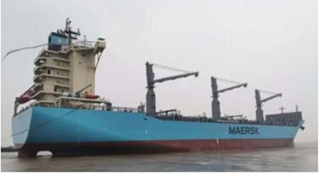 舟山常石造船复工交付2800TEU集装箱船