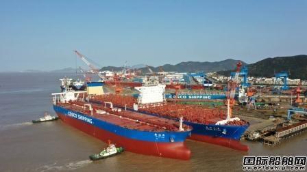 舟山中远海运重工一季度完工修理改装44艘船