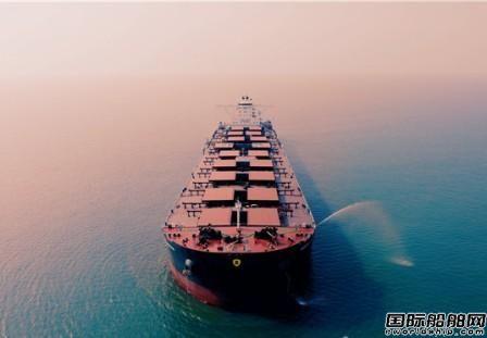 青岛造船厂一艘20.6万吨大型散货船完成海试