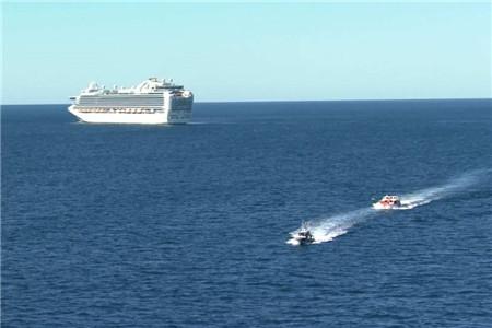 """""""红宝石公主""""号邮轮将于23日离开澳大利亚"""