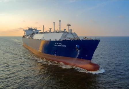 沪东中华又获中远海能6亿美元3艘LNG船订单